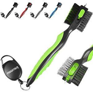 Comprar Cepillo de golf y limpiador de ranura para palos de golf