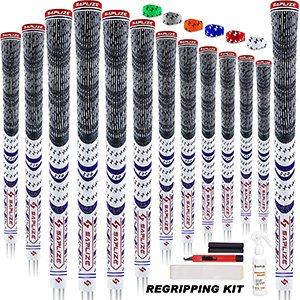 Comprar SAPLIZE puños de golf de 13 piezas con kit de regripping
