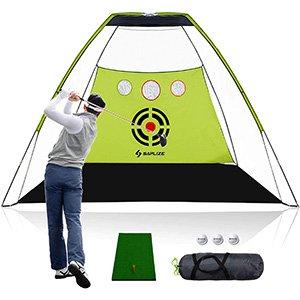Comprar SAPLIZE red de golf con alfombrilla de golpe
