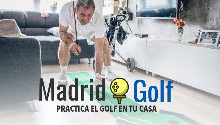 Jugar al golf en casa
