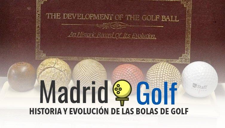 La historia de las bolas de golf