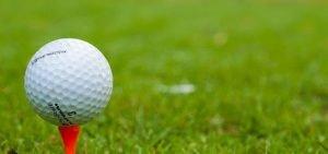 historia de la bola de golf